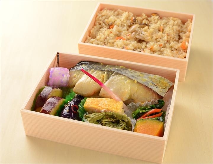 西京焼き弁当二段重